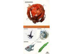 Космос рисунки акварелью 7
