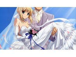 Картинки девушка и парень свадьба