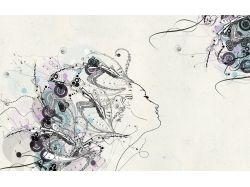 Рисунки карандашом абстракция для начинающих 2