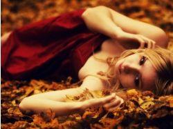 Картинки осень грусть 7
