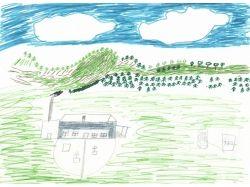 Детские рисунки как провел лето 7