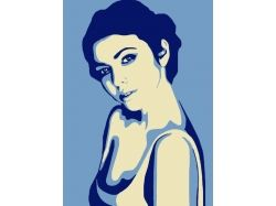 Арт портрет девушки