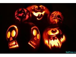 Открытки рисунки хэллоуин 4
