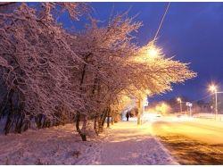 Зима город фото 7
