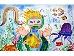 Рисунки на тему вода источник жизни 6