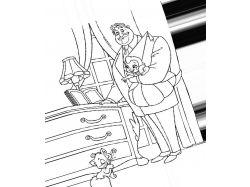 Лягушка - раскраски для детей 6