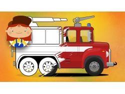 Машина - раскраски для детей 5