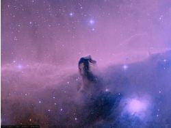 Рисунок космоса акварелью 7