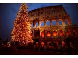 Рим на рождество фото