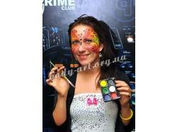 Хэллоуин рисунки на лице видео 6