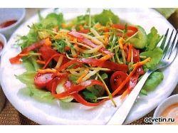Как правильно нарезать овощи фото