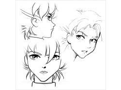 Бесплатные картинки аниме только лица