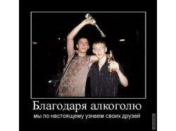 Демотиваторы  про алкоголь 7