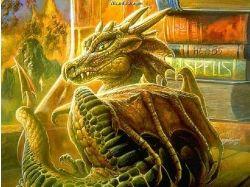 Новогодние прикольные картинки с драконом 3