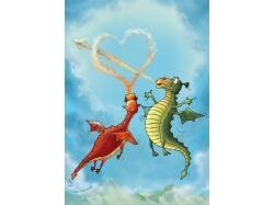 Новогодние прикольные картинки с драконом 5