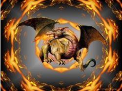 Новогодние прикольные картинки с драконом 6