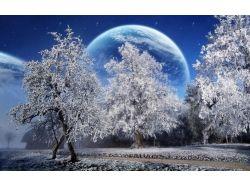 Природа зима фото на рабочий стол
