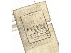 Первые бумажные деньги фото