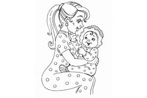 Картинки мама и ребенок