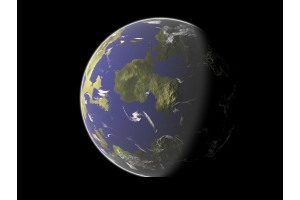 Планета земля рисунок