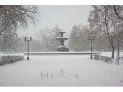 Омск фото зима