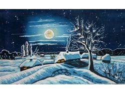 Ночь перед рождеством картинки 2