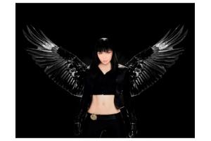 Фото девушек ангелов с крыльями