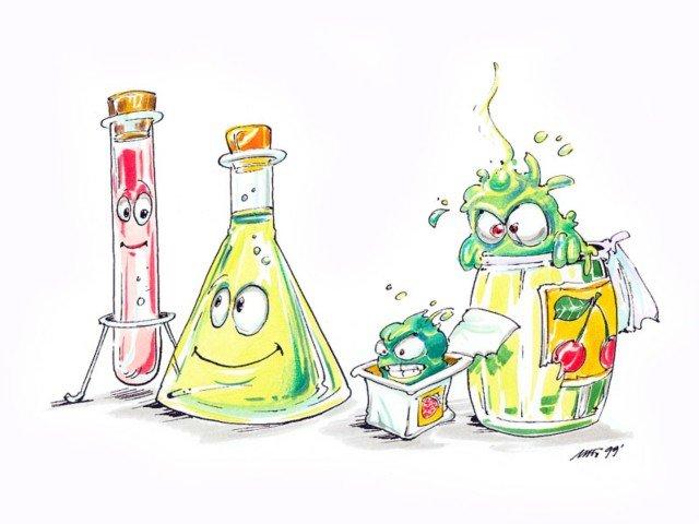 Прикольный картинки по химии