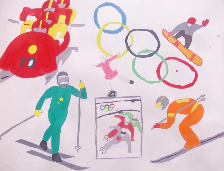 Поделки мой любимый вид спорта в картинках