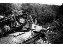 Уничтоженные немецкие танки фото