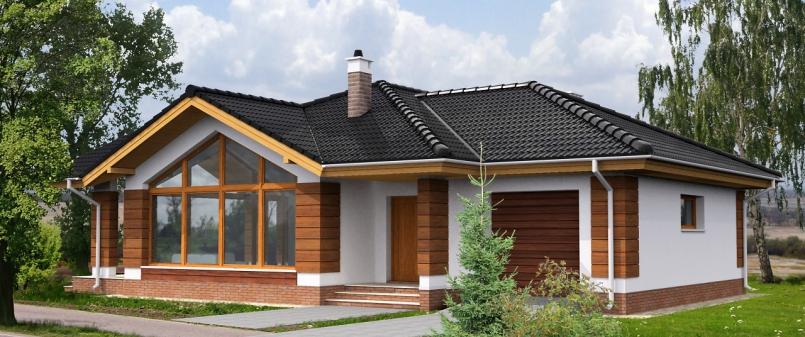 Красивые одноэтажные дома фото » Скачать лучшие картинки ...