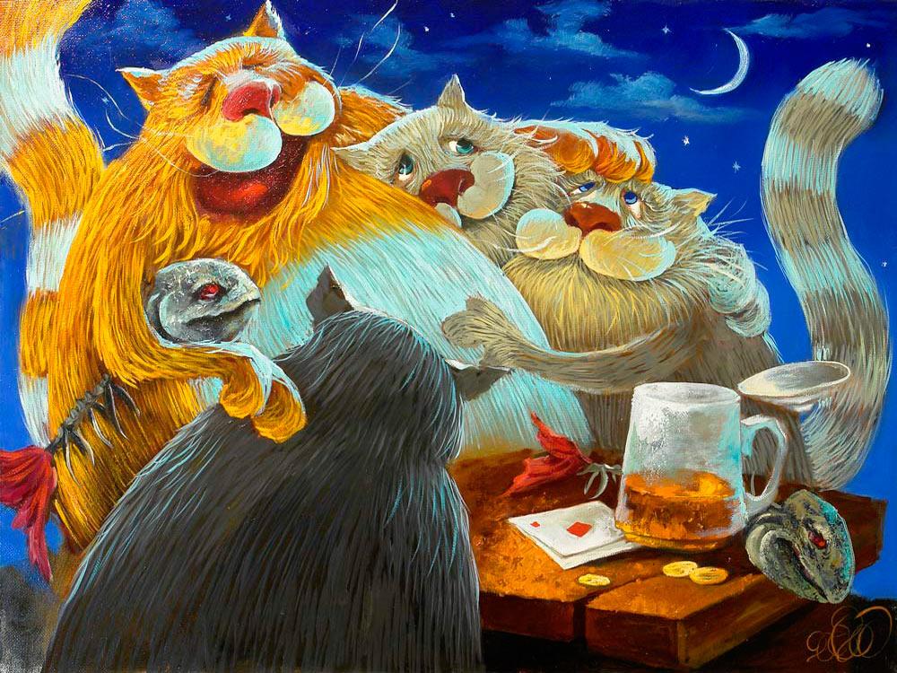 Приятного аппетита, открытки веселые и добрые рисунки