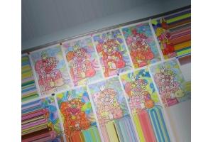 Мозаика из бумаги картинки