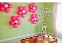 Фото цветы из воздушных шаров 3