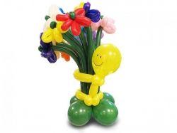 Фото цветы из воздушных шаров 5