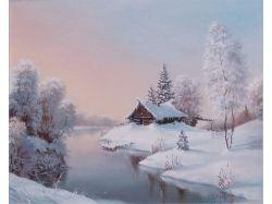Анимационные картинки зима 320х480