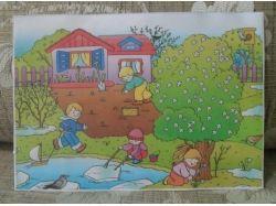 Картинки время года весна расскажите детям