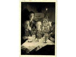 Новогодние открытки третьего рейха
