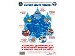 Правила безопасности для детей на воде в картинках