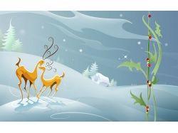 Новогодние рисунки открытки