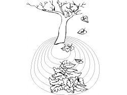 Дерево раскраска 7