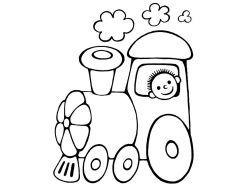 Машина раскраска для детей