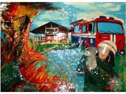 Поделки рисунки спасатели глазами детей