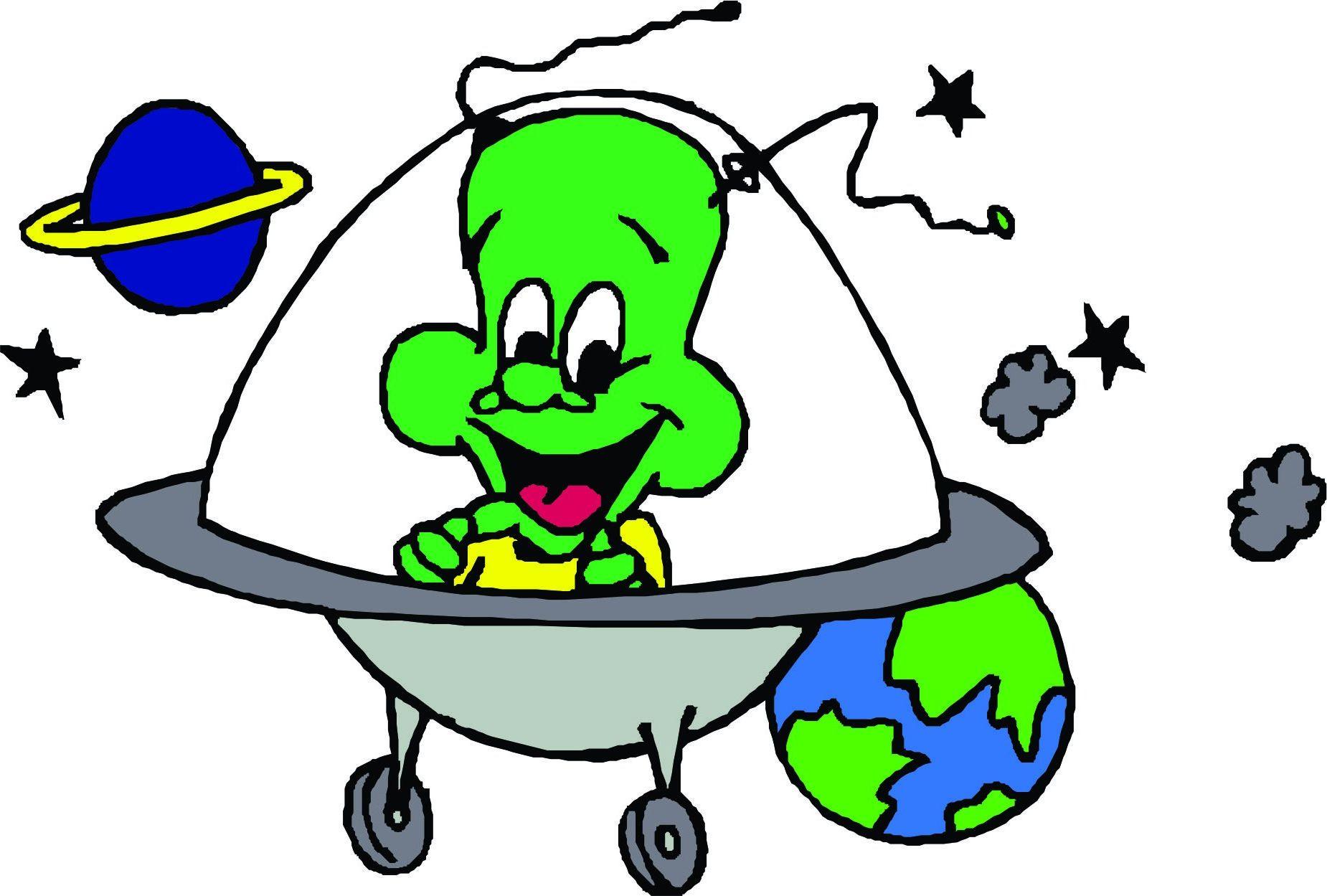 Картинки пришельцы из космоса для детей