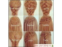 Способы плетения кос фото 7