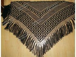 Вязание крючком шалей фото 7
