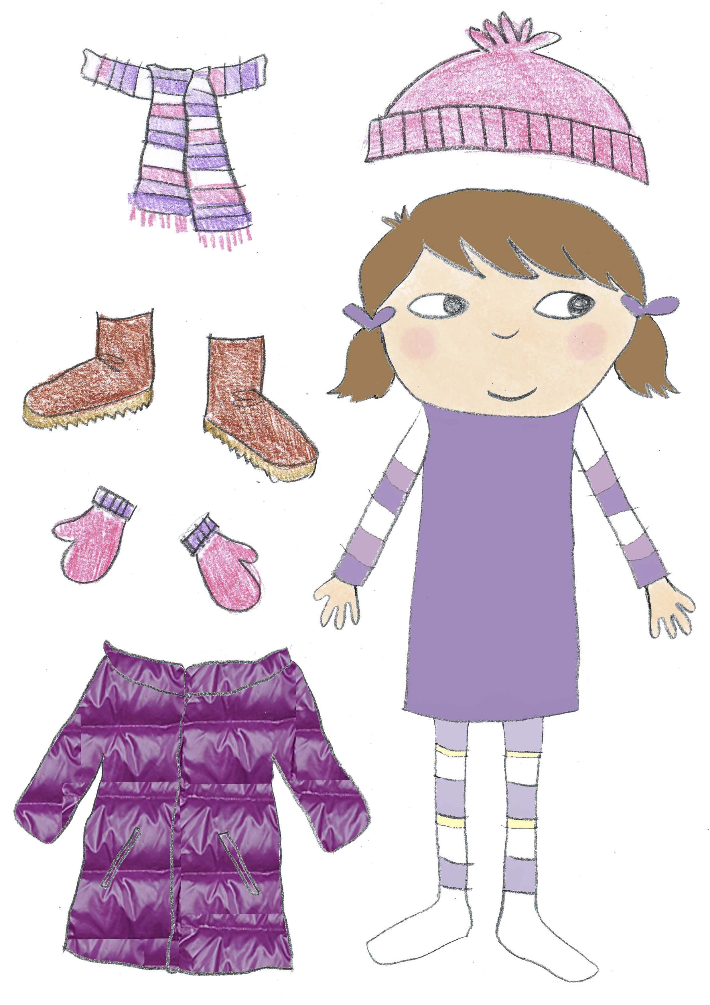 Кукла одетая по сезону картинки для детей