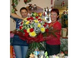 Составление букетов из цветов