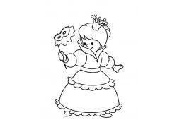 Раскраски принцессы распечатать