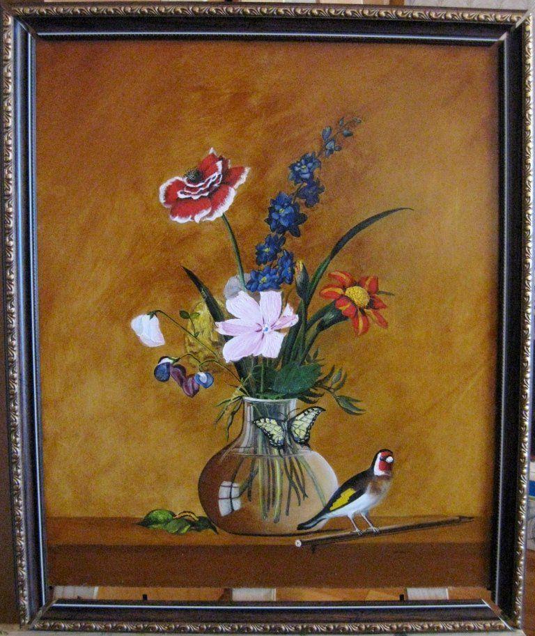 России букет цветов бабочка птичка может быть